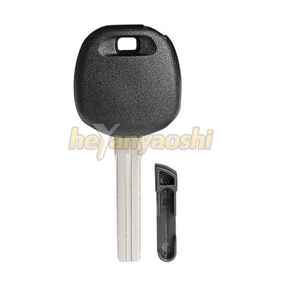 TOY48 Blade Spare Car Key , Customized Design Toyota Car Key Carbon Chip