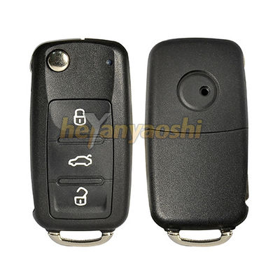 Vw 3 Buttons Smart Key Shell with Emergency Key Insert