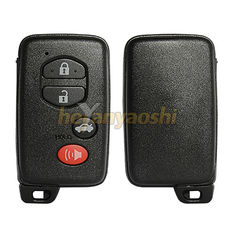 Toyota 3 Buttons Smart Key Shell with Emergency Key Insert