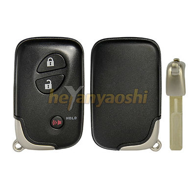 Lexus 3 Buttons Smart Key Shell with Emergency Key Insert