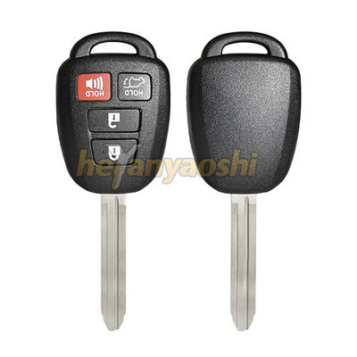 Reliable Remote Key Shell For Toyota Automotives 4 Buttons R - 00331 Model