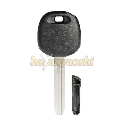Small Size Auto Car Keys Shell For Toyota Carbon / Glass Transponders Plug