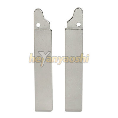 Silver HU83 Car Key Blade Replacement Smooth Shining Surface With Coated Layer