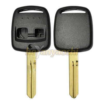 Plastic + Brass 2 Buttons Smart Key Shell For Subaru / Lincolin